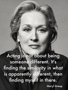 17 Times Meryl Streep Was An Inspiration To Us All - Icon People - Ideas of Icon People - When she proved that empathy plays a huge part in great acting. Acting Quotes, Acting Tips, Drama Quotes, Pain Quotes, Random Quotes, Attitude Quotes, Voice Acting, Acting Career, Acting Class