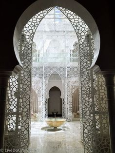 Wondering what to do with three days in Marrakech? Take the time to get a Hammam treatment at the Royal Mansour Spa.