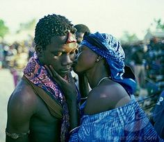 Wolof couple from Senegal.