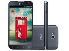 "Smartphone LG L90 Dual Chip 3G Android 4.4 - Câmera 8MP Tela 4.7"" Proc. Quad Core Wi-Fi A-GPS"