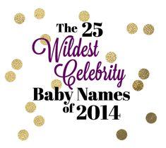 Celebrity-Inspired Names!