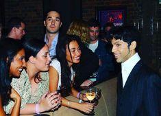 Beautiful Bright-eyed Prince - ■■■■■■■■■■■■■■■■■ - Soho, London - 2002 - listening party; photography by Afshin Shahidi