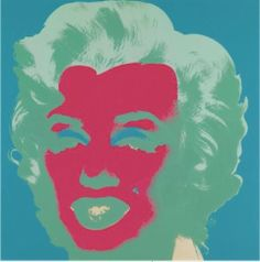 Andy Warhol - Marilyn II.30   From a unique collection of portrait prints at http://www.1stdibs.com/art/prints-works-on-paper/portrait-prints-works-on-paper/