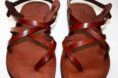 Someday I'll break down and buy a pair of these.  I have a similar pair of Italian shoes that I bought at Kohl's of all places a few years ago, and they're really comfy and long-wearing.  Makes me want to trek around the Mediterranean in them!