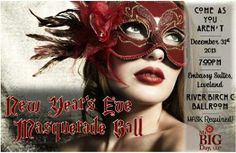 Masquerade Ball in Loveland, CO 12/31/13 New Year's Eve Party in Northern Colorado!