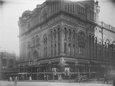 Queen Victoria Building in Sydney in 1918 during renovations.