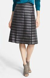 Halogen® Pleat Midi Skirt