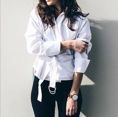 @umyeahthanks_ blogger styles @cmeocollective 'Say It Right Shirt' // available online now //