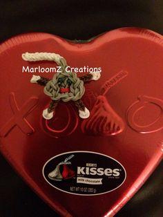 Rainbow Loom Hershey Kiss Character: MarloomZ Creations
