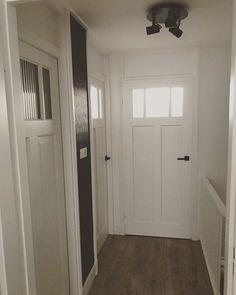 1930s House, Armoire, Doors, Trap, Bedroom, Interior, Furniture, Home Decor, Black