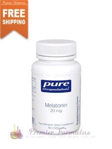 Melatonin 20 mg 180 vcaps