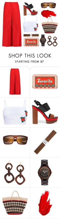 """""""Favorito"""" by romaosorno ❤ liked on Polyvore featuring Sonia Rykiel, Claus Porto, Michael Kors, Earth, L'Objet, NEST Jewelry, WeWood, Sensi Studio and Maybelline"""
