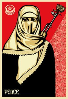Muslim Woman - The Giant: The Definitive Obey Giant Site