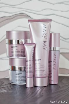 Go back in time. Lift away the years. Try the TimeWise Repair® Volu-Firm® Set to care for your skin in a whole new way!   Mary Kay