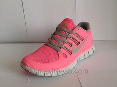 Buy Nike Free Run+ 5.0 Pink Women Nike Running Shoes Top Fashion