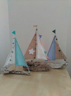 Barcos madera deriva DIY