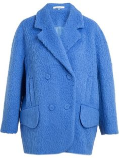 CARVEN - Hairy Wool Coat 4
