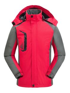 bfe6b12e3c1e1 Women Outdoor Thicken Hooded Mountaineer Jacket only US 73.80   Free shipping  Women beauty Women Outdoor Thicken