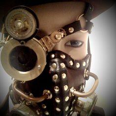 Steampunk mask and monacle