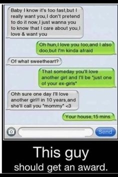 funny text messages from boyfriends dirty - Google Search