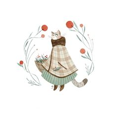 Funny cat pictures, funny cat images, cat pictures for kids, cute cats photos Art Prints, Animal Art, Character Design, Drawing Illustrations, Cute Art, Illustration Art, Giclee Art Print, Cat Pictures For Kids, Watercolor Illustration