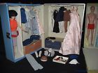 Vintage Barbie & Ken Doll Lot with 2 Cases Full of Clothing & Accessories Nice