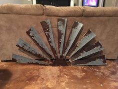 Windmill Large Rustic Windmill Half wall by RustndustDesigns