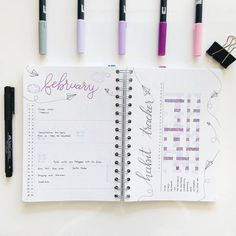 """500 Likes, 11 Comments - Laetitia • ex bujourney (@laettering) on Instagram: """"A little throw back to last month's layout 😊 • • • • #bulletjournal #planner #bujo…"""""""
