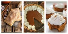 This Thanksgiving, we're thankful for these amazing pumpkin pie recipes. - Half…