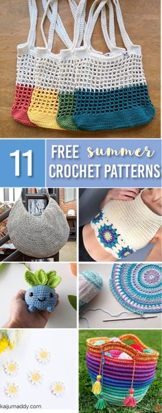 Summer Crochet Patterns for Beginners