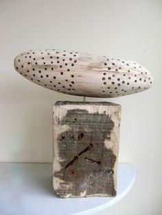 Marijke Bongers, recycled wood
