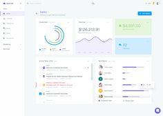 Agile CRM - Dashboard Design