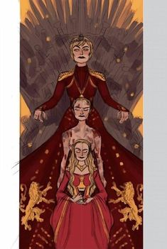 game of thrones artwork Cersei Lannister Game Of Thrones Tattoo, Game Of Thrones Meme, Tatuagem Game Of Thrones, Dessin Game Of Thrones, Arte Game Of Thrones, Game Of Thrones Artwork, Game Of Thrones Books, Cersei Lannister, Daenerys Targaryen