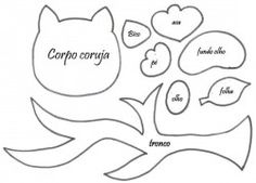 corujimha no tronco : Revista Artesanato