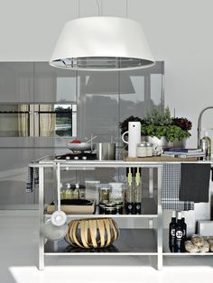 Cucina Moderna E Di Design El Elmar Cucine Kitchen - Contemporary kitchen with modular work island el_01 by elmar