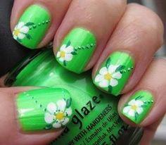 Spring Nail Green