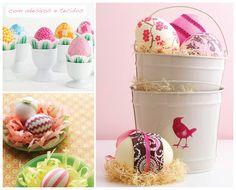 Decor de Páscoa #easter #pascoa #eggs