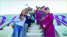 #Pisa Received First #Qatar_Airways Flight