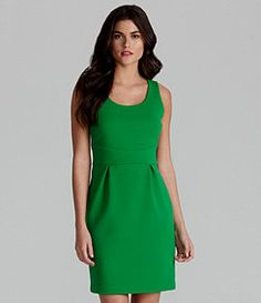 Love the kelly green Gianni Bini dress for St. Pattys day! #dillards #fayetteville