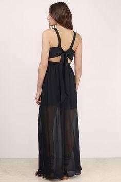 Love Song High Slit Maxi Dress