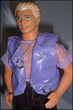 TIL that Mattel in an attempt to make their Ken doll more appealing to girls made Earring Magic Ken. The doll was bought in record numbers but was discontinued weeks later because of its popularity with gay men. Leather Jewelry Making, Jewelry For Her, Hair Jewelry, Boho Jewelry, Barbie I, Barbie And Ken, Bleach Blonde Hair, Guys And Dolls, Model Outfits