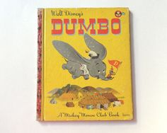 Dumbo  A Mickey Mouse Club Book  1947 Q Edition  Walt