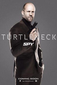 Jason Statham goes Bond on new Spy poster