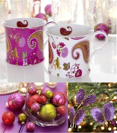 Such colorful coffee mugs.  Precious!