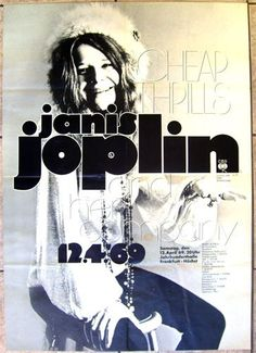 "we can not tell someone who doesn't know janis ""hey listen, you will love it"". first this person has to accept the fact that he or she will enter a very unique world, made out of plain soul pain, in complete rupture from the main stream. http://www.luisposter.de/product_info.php/info/p19834_Janis-Joplin---original-poster.html"