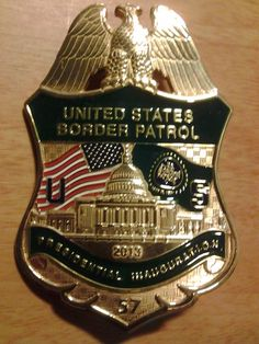 US Border Patrol 57th Presidential Inaugural Badge   Police & Law Enforcement Discussions and Forums - PoliceLink