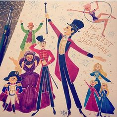 """66 Likes, 4 Comments - Diana Berry (@dianaberry25) on Instagram: """"Everyone's got an act ♡ #thegreatestshowman #annewheeler #zendaya #art #artwork #drawing #instadraw…"""""""