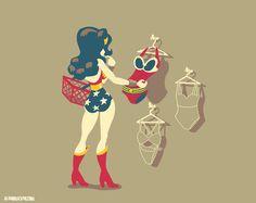 Pinup Arena • glenbrogan: Wonder Woman shirt design