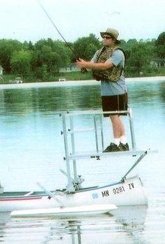 NIELSEN'S OUTRIGGER CO., Stabilizers, Fiberglass Floats, USA MFG. Stabilize a Canoe Wow!