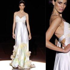Ręcznie malowane suknie ślubne - Galerie - moda ślubna -